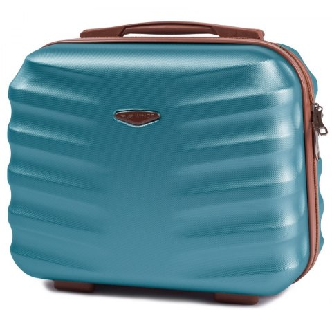 402, Beauty case Wings BC, Silver blue