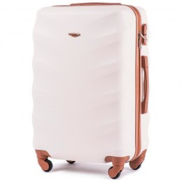 402, Middle size suitcase Wings M, Dirty white