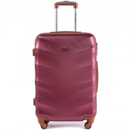 402, Middle size suitcase Wings M, Wine red