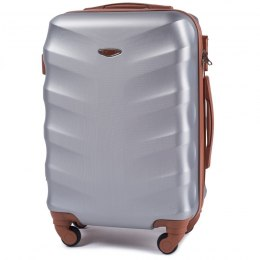 402, Cabin suitcase Wings S, Silver white