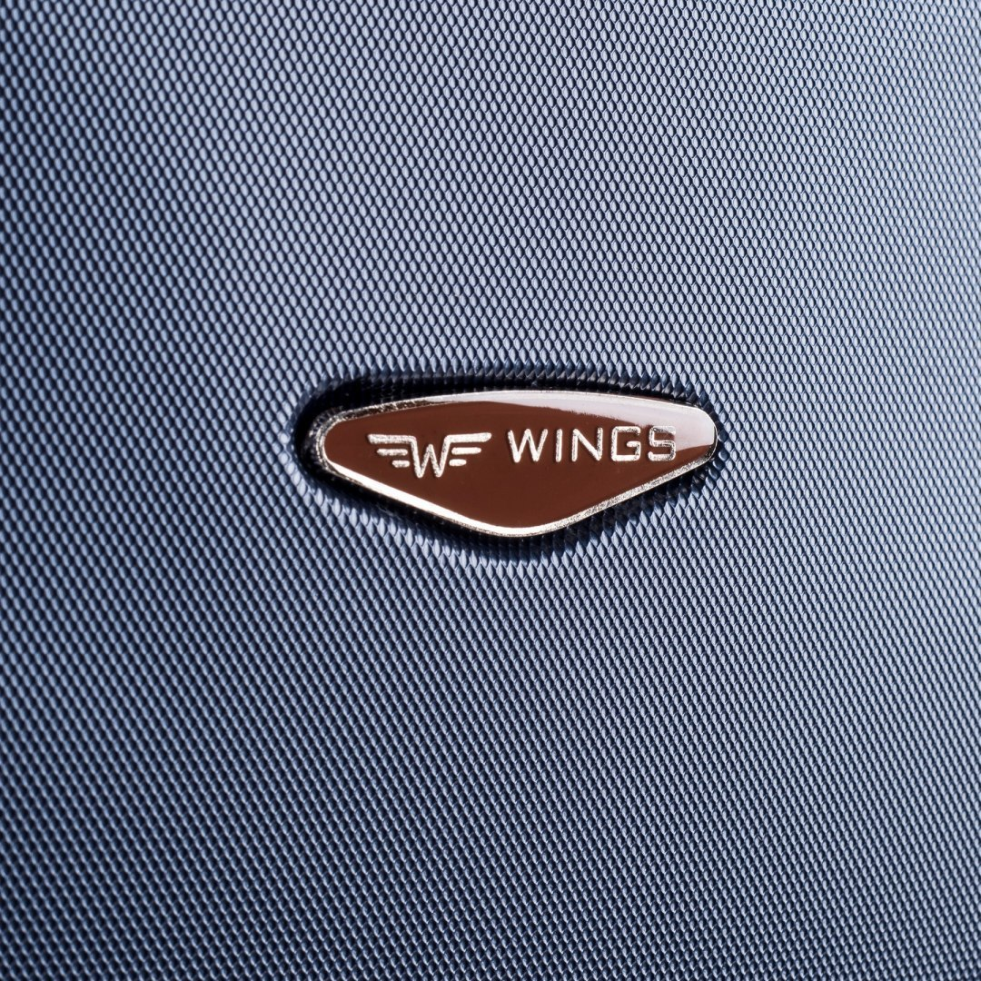 402, Small cabin suitcase Wings XS, Black