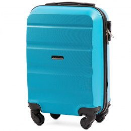 AT01, Small cabin suitcase Wings XS, Cyan