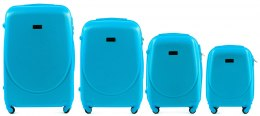 K310, Luggage 4 sets (L,M,S,XS) Wings, Cyan