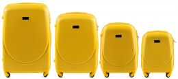 K310, Luggage 4 sets (L,M,S,XS) Wings, Yellow