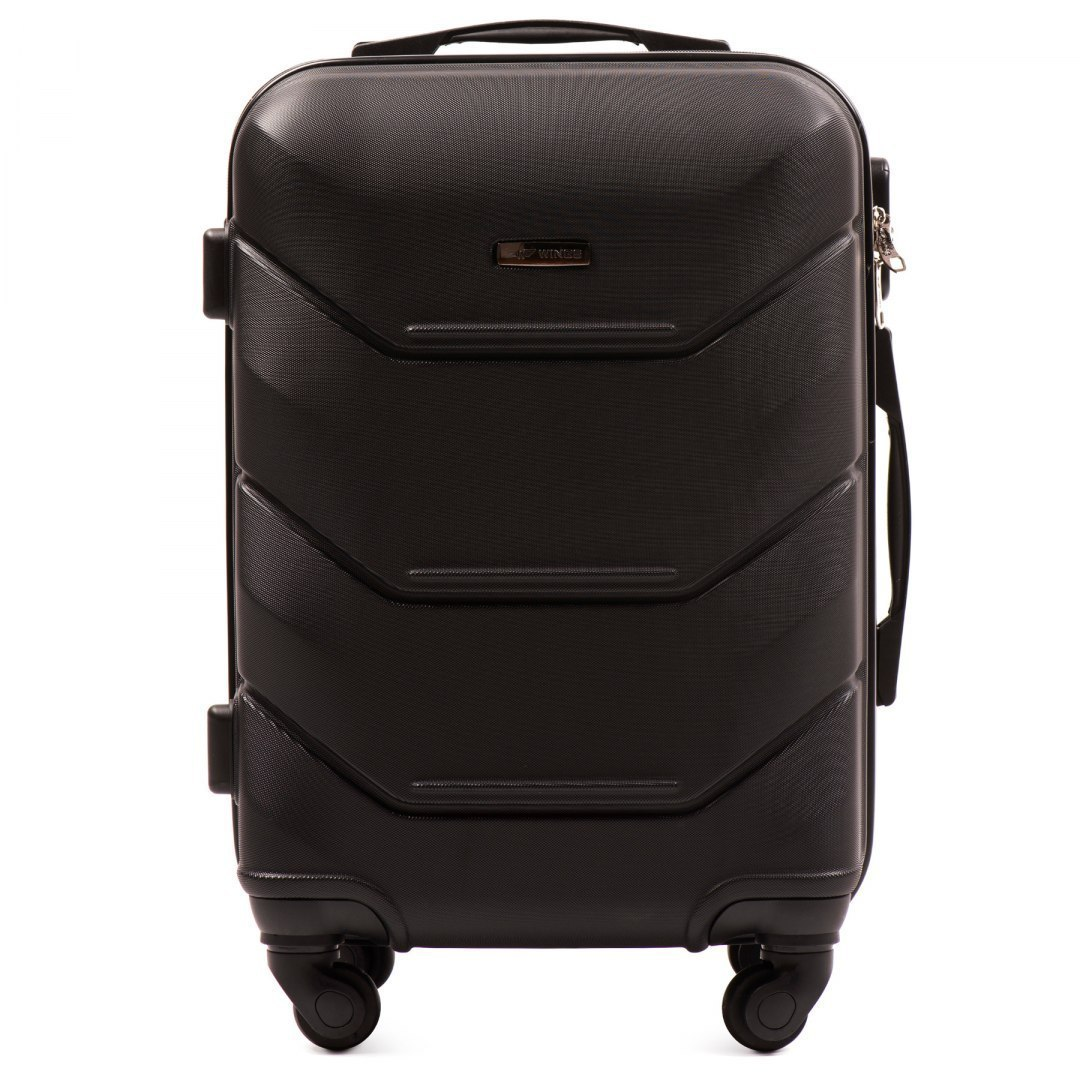 147, Cabin suitcase Wings S, Black