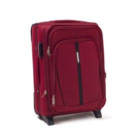 1706(2), Cabin soft travel suitcase 2 wheels Wings S, Double red