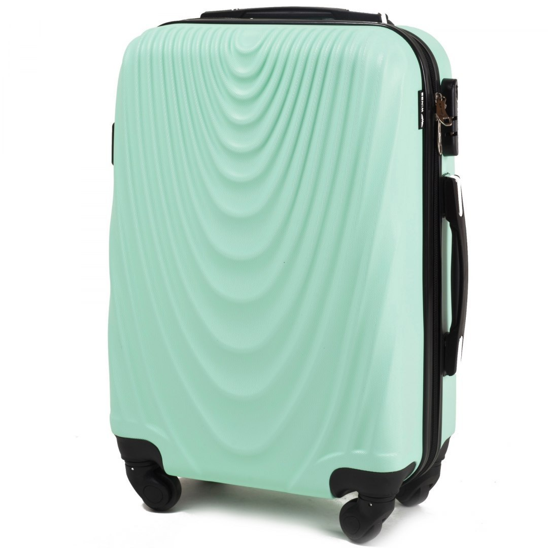 304, Cabin suitcase Wings S, Light green