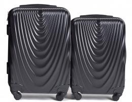 304, Luggage 2 sets (S,XS) Wings, Black