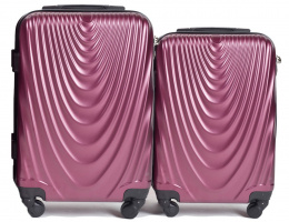 304, Luggage 2 sets (S,XS) Wings, Burgundy
