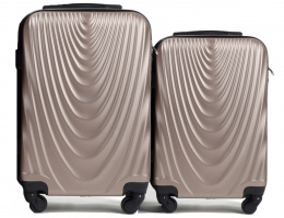304, Luggage 2 sets (S,XS) Wings, Champagne