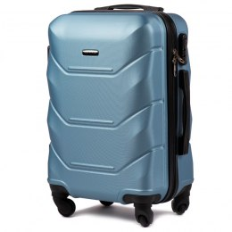 147, Cabin suitcase Wings S, Silver blue