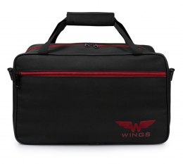 TB01, Shoulder bag Wings, Black