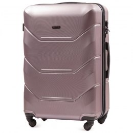 147, Large travel suitcase Wings L, Rose gold
