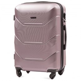 147, Middle size suitcase Wings M, Rose gold
