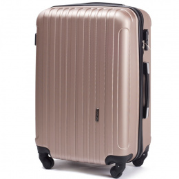 2011, Middle size suitcase Wings M, Champagne