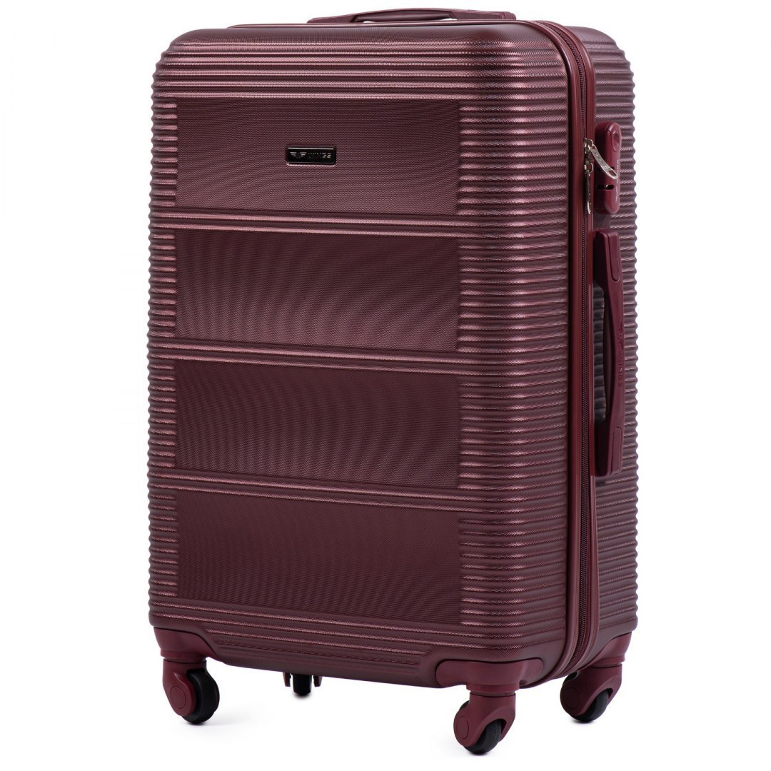 203, Large travel suitcase Wings L, Double red