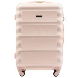 203, Large travel suitcase Wings L, Dirty white
