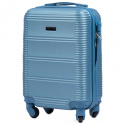 203, Small cabin suitcase Wings XS, Silver blue