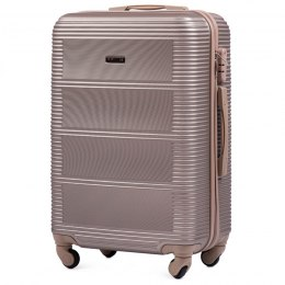 203, Middle size suitcase Wings M, Champagne