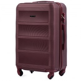203, Middle size suitcase Wings M, Duble red