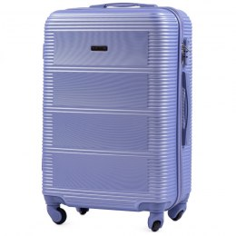 203, Middle size suitcase Wings M, Light purple