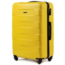 401, Large travel suitcase Wings L, Yellow
