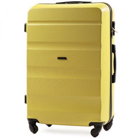 AT01, Large travel suitcase Wings L, Yellow