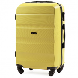 AT01, Middle size suitcase Wings M, Yellow