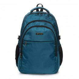 BP124-97, Travel backpack Wings, Teal