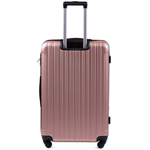 2011, Large travel suitcase Wings L, Rose gold