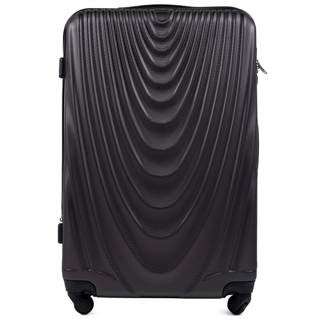304, Large travel suitcase Wings L, Dark grey