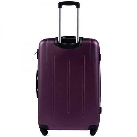 304, Large travel suitcase Wings L, Dark purple