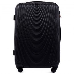 304, Middle size suitcase Wings M, Black