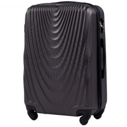 304, Middle size suitcase Wings M, Dark grey