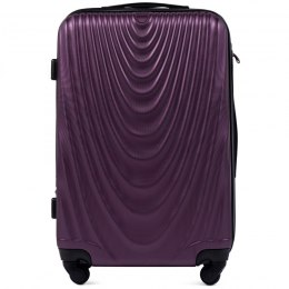 304, Middle size suitcase Wings M, Dark purple
