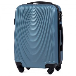 304, Cabin suitcase Wings S, Silver blue