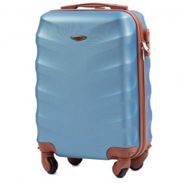 402, Small cabin suitcase Wings XS, Silver blue
