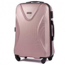 518, Middle size suitcase Wings M, Rose gold