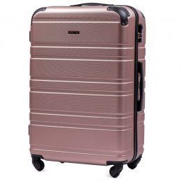 608, Large travel suitcase Wings L, Rose gold