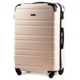 608, Middle size suitcase Wings M, Dirty white