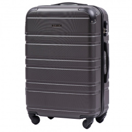 608, Middle size suitcase Wings M, Dark grey