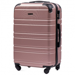 608, Middle size suitcase Wings M, Rose gold